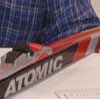 Atomic Racing Skis: New Bases, New Shapes, & Waxless
