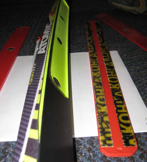 Atomic Skintec waxless cross country skis