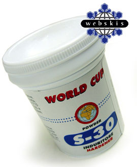 Solda S30 cross country ski wax for cold conditions.