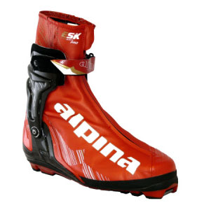 Alpina ESK Pro Skate Boot for cross country ski racing