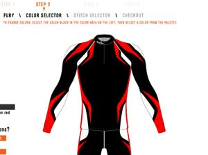 Borah Teamwear offers Individual-Custom race suits
