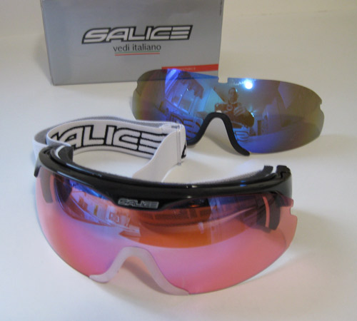 Salice 807 Nordic Flip Sunglasses with two lens