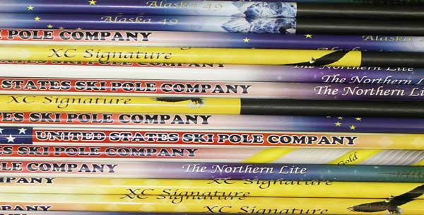 United States Ski Pole Company cross country ski poles
