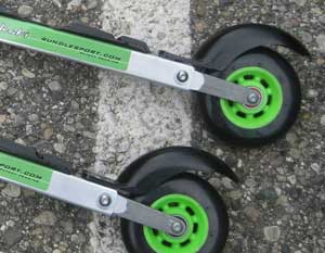 REVIEW: Rundle Sport RS-10 Suspension Rollerski