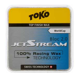 Stop prying eyes: Toko JetStream 2.0 waxes are all white!