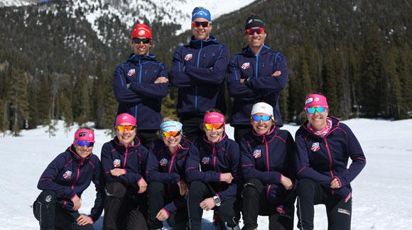 L.L. Bean and Craft Sportswear North America will provide a variety of training and competition apparel as part of a multi-year partnership with the U.S. Cross Country Ski Team (shown here) and U.S. Nordic Combined Ski Team.