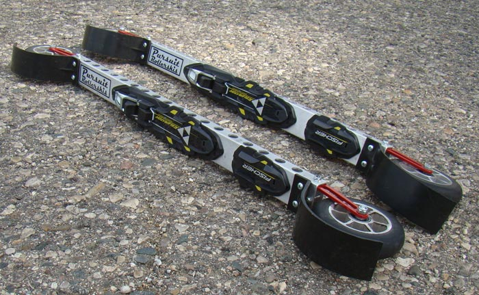 top-view of Pursuit Fork Flex Rollerski