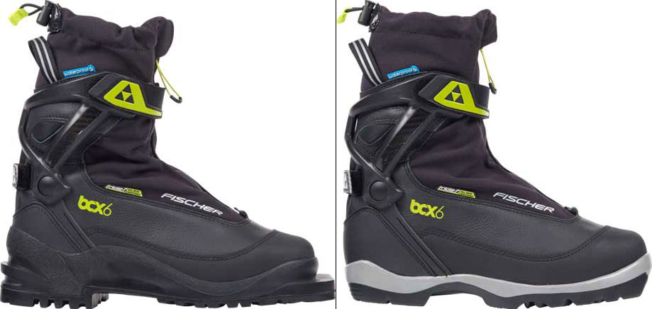 Fischer BCX-675 and BCX-6 back-country boots