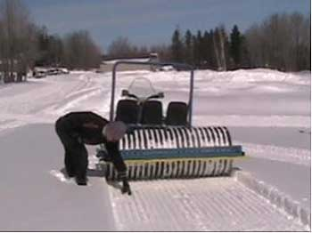 Grooming Cross Country Ski Trails - YouTube  Cross Country Ski Trail Grooming