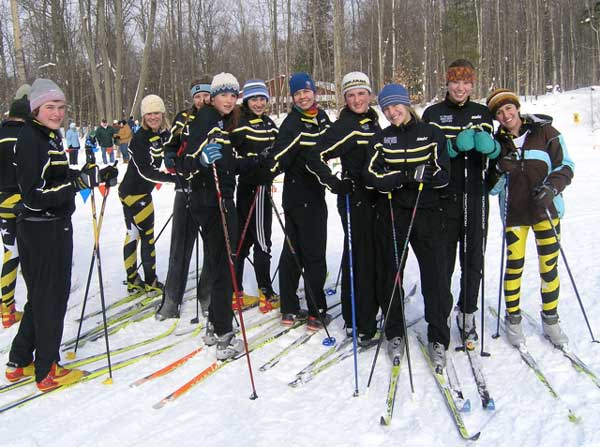 Traverse City Girls Team at States