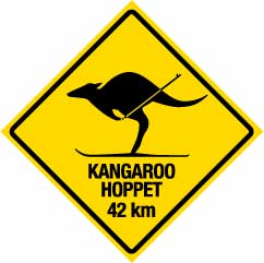 Kangaroo Hoppet cross country ski race