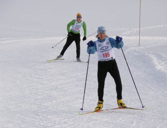 Chestnut Valley cross country ski race
