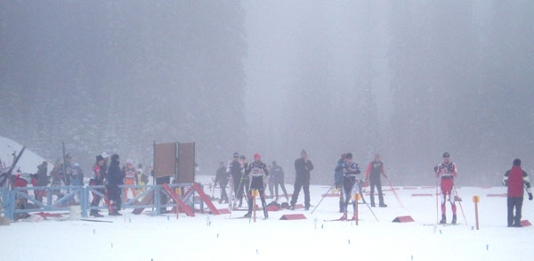 Canadian NorAms hosted at the Sovereign Lake ski venue in Silver Star, British Columbia