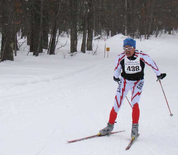 Dave Mclean wins Michigan Cup Marathon XC ski race