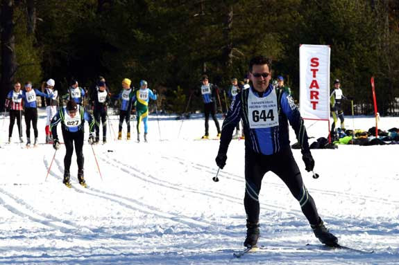 Michigan Cup cross country ski sprints