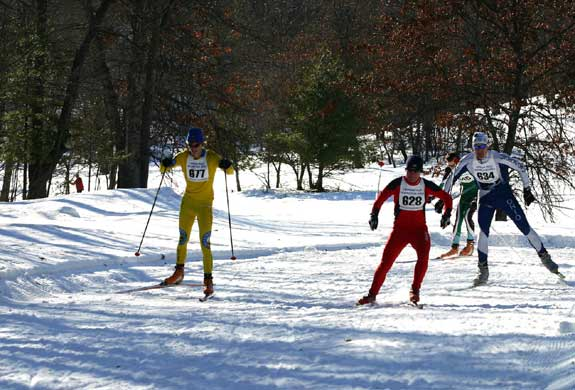 Michigan Cup cross country ski sprint race