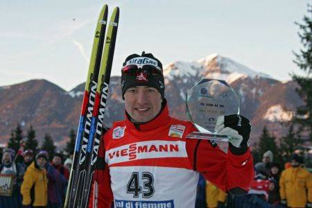 Ivan Babikov, winner of final Tour de Ski stage