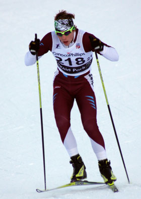 Reese Hanneman, Toko-sponsored cross country skier