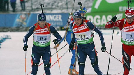 US Biathlon Relay Scores 7th Place in Östersund World Cup
