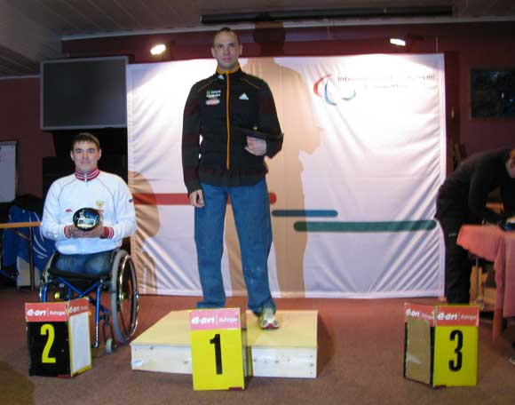 : Andy Soule's win in the opening IPC Biathlon World Cup competition of the season is his first-ever World Cup podium.
