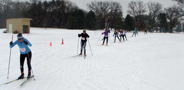 Frosty 5k/15k Freestyle Cross Country Ski Race
