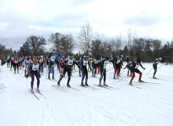 Hanson Hills Freestyle cross country ski race