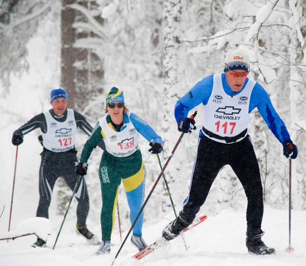 Hillary Witbrodt at Black Mountain 31K Classic cross country ski race