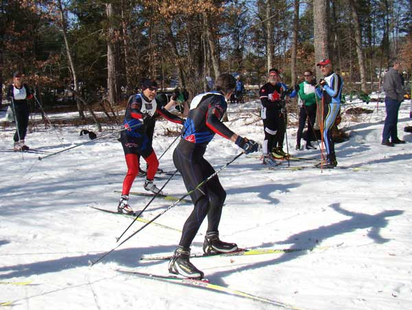 Michigan Cup Relays cross country ski race