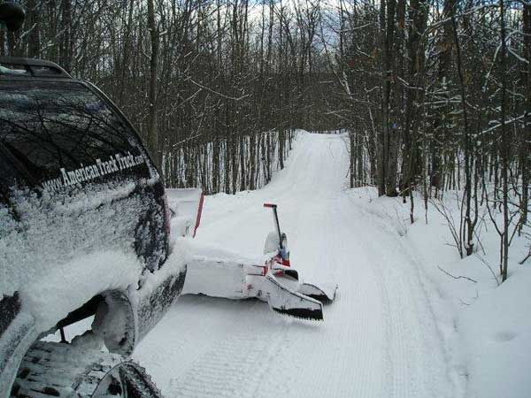 Photo of Black Mountain ski trails on Sunday Feb 19, 2012