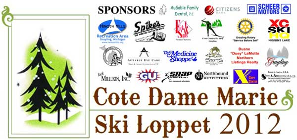 Cote Dame Marie cross country ski race