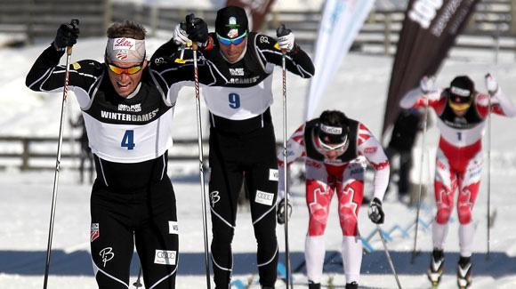 Kris Freeman had a strong showing in a 50k classic mass start at Holmenkollen in Oslo, finishing just 24 seconds off the lead. (Getty Images)