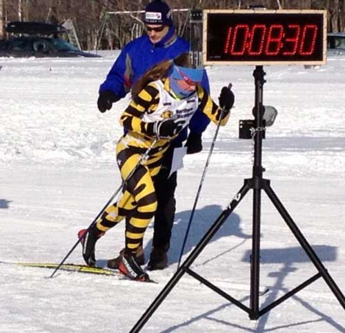 Erin Lipp, National Nordic Foundation's Drive for 25 for cross country ski racers