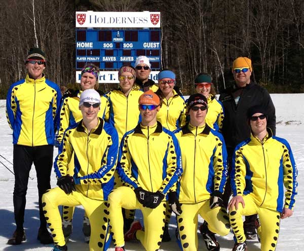 Great Lakes Division xc ski team at 2013 J2 Nationals