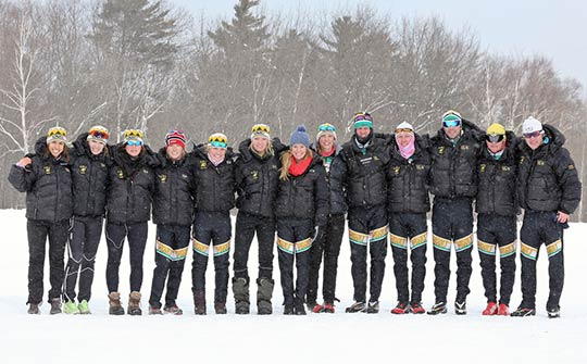 Northern Michigan University cross country ski team