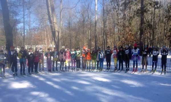 Schwab and Durand win Muffin Pursuit cross country ski race