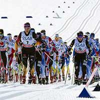 Strong Skiathlon for Liz Stephen at Falun