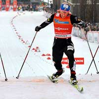 Randall clinches third straight World Cup Sprint Title