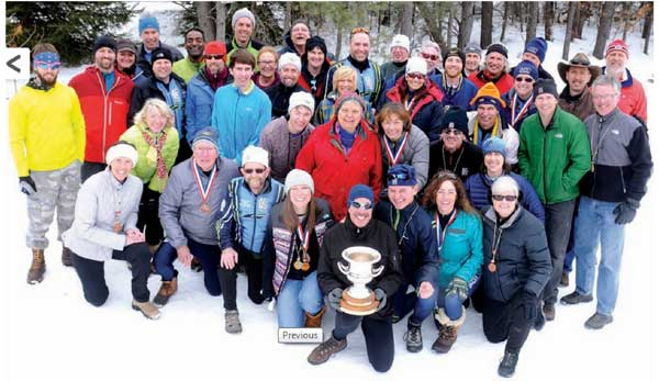 Cross Country Ski Headquarters team with the overall 2014 Michigan Cup