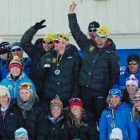 NMU Nordic Skiing awards skiers at banquet