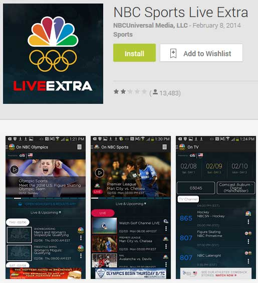 NBC Sports Live shows Olympic cross country, biathlon and Nordic combined replays of entire races
