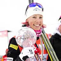 Randall sprints to 4th in Falun Opener
