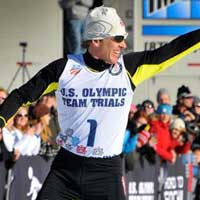 Todd Lodwick honored as Olympic Flag Bearer