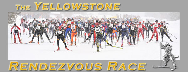34th annual Yellowstone Rendezvous Race on  March 8th, 2014 in West Yellowstone, Montana.