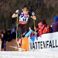 Stephen 11th in Toblach 10k Classic