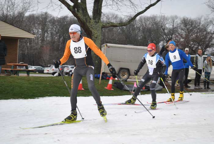 Frosty Freestyle cross country ski race, 15km skate with Robin Luce