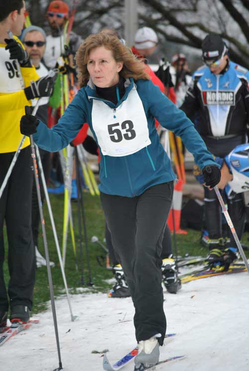 Frosty Freestyle cross country ski race - Cindy Turik