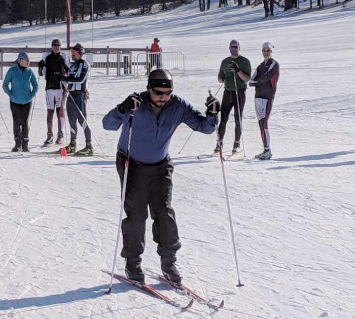 Hanson Hills 6-hour Michigan Cup Team Relay skier