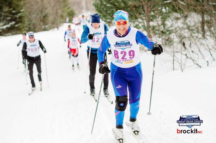 Great Bear Chase 2021 cross country ski race