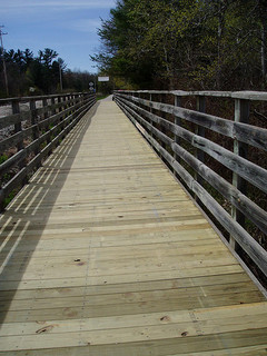 TART wooden bridge to be refinished in Traverse City