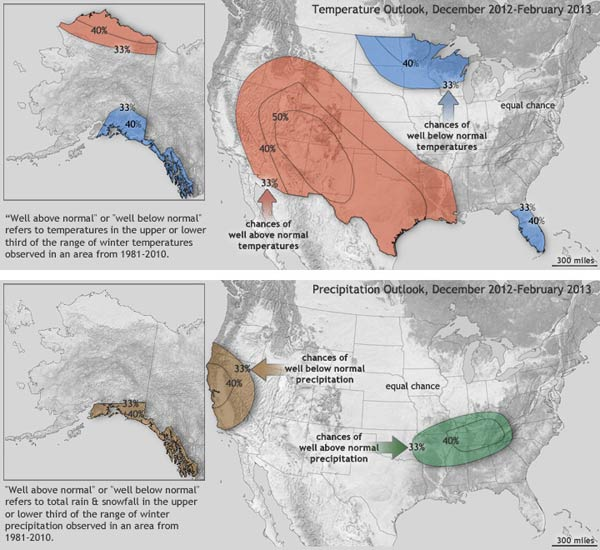 Winter outlook for cross country skiers in 2012-2013